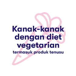 Kids on vegetarian diets including dairy products