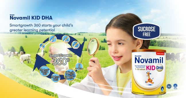 Novamil DHA Discover your child's greater learning potential